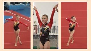 Katie Qualifies For Level 9 Gymnastics | Flippin' Katie