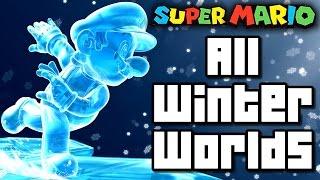 Super Mario Christmas ALL WINTER WORLDS 1990-2016 (Wii U to NES)