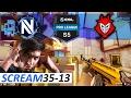 CS:GO ScreaM POV 35-13 / EnVyUs vs G2 / Cache / ESL Pro League Season 5