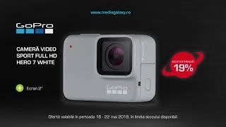 Camera video sport Full HD GoPro HERO7 White - Black Friday de primavara - Media Galaxy