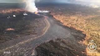 puna hawaii lava flow