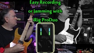 irig pro duo mixer for iphone ipad record or jam