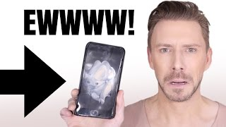 How to stop foundation coming off onto your phone!!!!