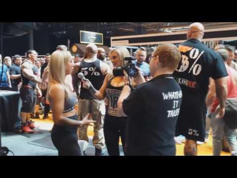 Body Power Expo, Birmingham 2017 - Rich Piana, Martyn Ford, Jens Dalsgaard, 5%, Chanel, Strongman
