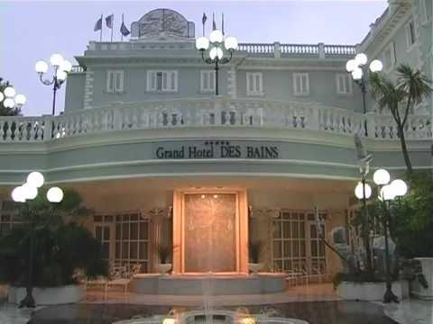 Grand hotel des bains riccione youtube for Hotel des bain