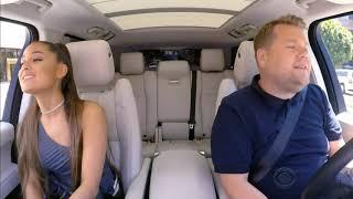 Ariana Grande  God is a woman (Carpool Karaoke w James Corden)