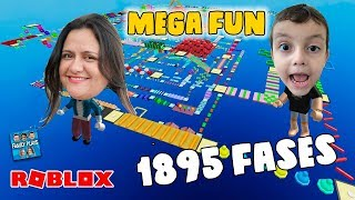 Extreme Escape from 1895 phases!! Roblox Mega Fun Obby up to Stage 350!! (Part 5)