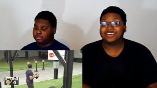 Video Freeze Frame Football Battle | Dude Perfect Reaction download MP3, 3GP, MP4, WEBM, AVI, FLV Juni 2018