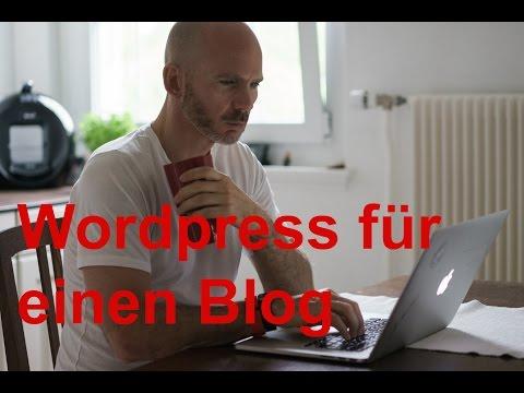 Mit WordPress einen Blog oder Homepage einrichten