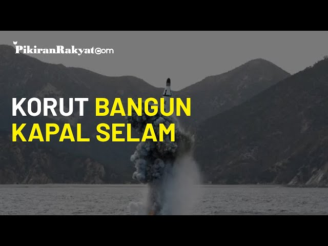 Korea Utara Bangun Kapal Selam Baru, Diduga Siap Lakukan Uji Coba Rudal Balistik di Bawah Air