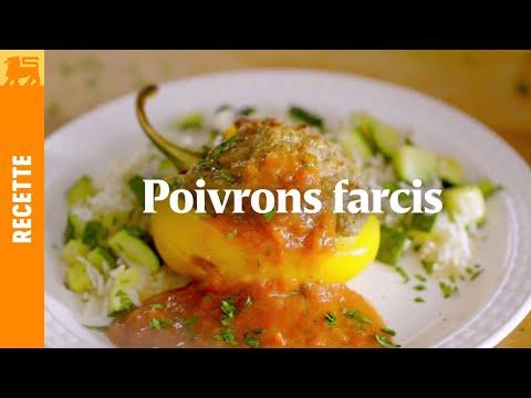 Recettes Delhaize €3 - Poivrons farcis
