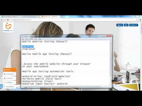Mobile Testing Tools - Mobile Testing Tutorial Video 2 Of 15