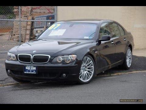 BMW Series IL Sedan YouTube - 2007 bmw 750il