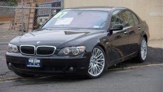 2007 BMW 7-Series 750iL Sedan