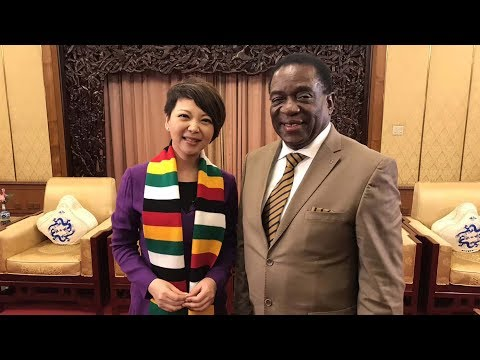 One-on-one with Zimbabwe's president in China