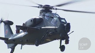 China's latest attack Helicopter