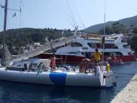 Belgian race yacht owned by Greek ferry