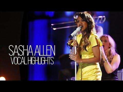 Vocal Highlights on The Voice: Sasha Allen (F3 - D6)