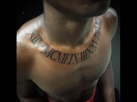quote tattoos on chest - YouTube