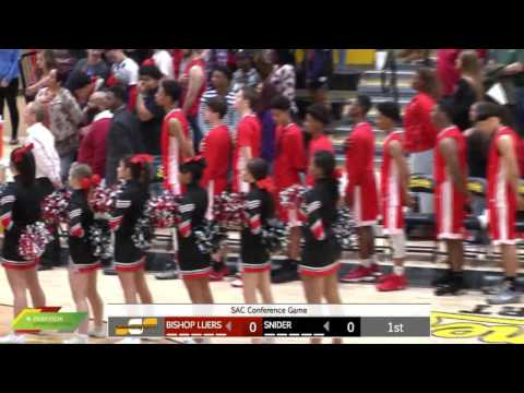 Watch Live: Bishop Luers at Snider | Boys Basketball Broadcast