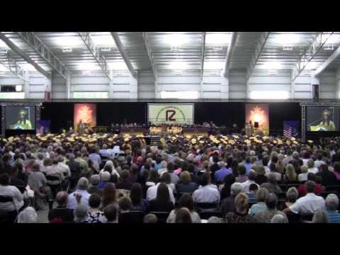 20140604 Adams Commencement speeches and choir