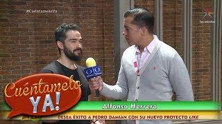 Alfonso Herrera Desmiente El Regreso De Rbd | Cuéntamelo Ya!
