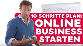 Online Business starten! 10 Schritte Plan von Pascal Feyh