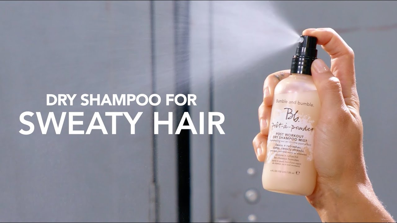 Dry shampoo for sweaty hair featuring Ali Krieger and Ashlyn Harris | Bumble and bumble.