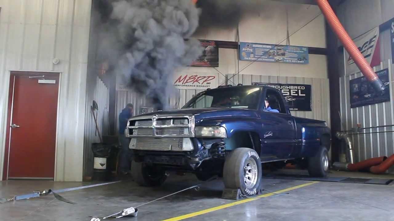 ROLLIN COAL  Best Cummins Diesel Smoke Out Truck Video  YouTube