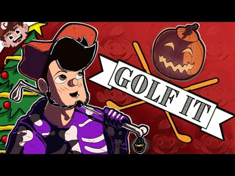 The NIGHTMARE Before CHRISTMAS! (Golf It w/ Nanners, Chilled, Ze, and Smii7y)