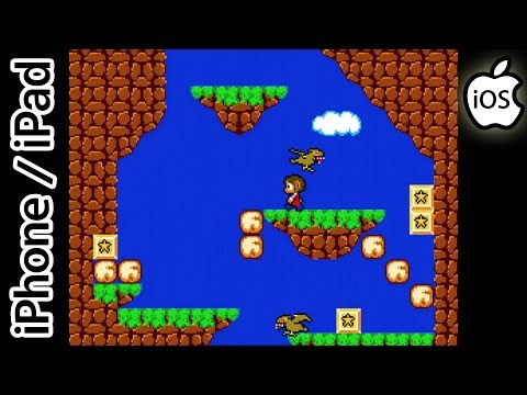 Alex Kidd in Miracle World | RetroArch Emulator | iPhone / iPad / iOS [1080p] | Sega Master System