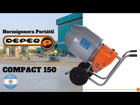 Mezcladora de Concreto Deper Compact 150 🚧 - Maquitec thumbnail