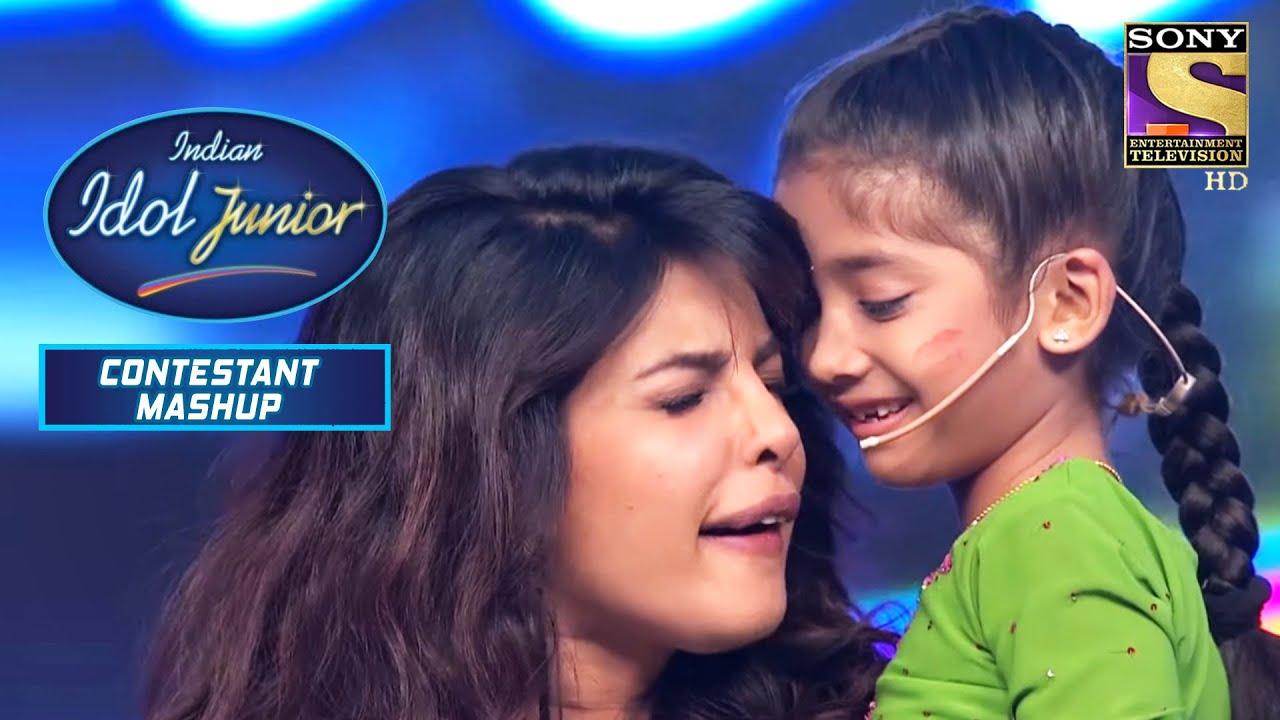 Download प्रियंका चोपड़ा ने यह कदम उठाया? | इंडियन आइडल जूनियर | प्रतियोगी मैशप
