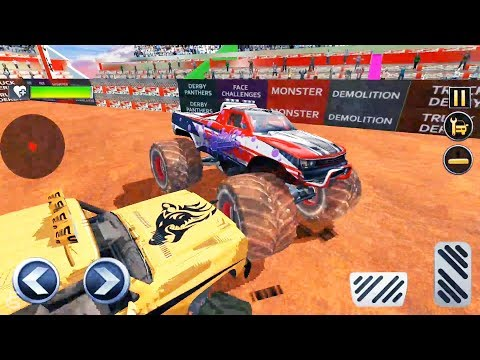 Monster Truck Derby Crash Stunts #10 | Android Gameplay | Friction Games