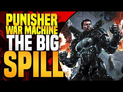 Marvel Legacy Punisher War Machine:  Full Event