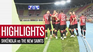 HIGHLIGHTS | Shkëndija vs The New Saints 5-0 | UCL