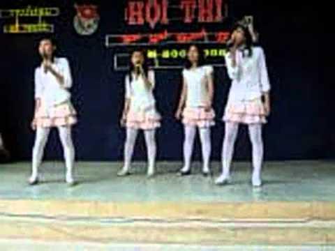 Văn nghệ trong cuộc thi Học sinh Thanh Lịch trường An Phước năm 2008.flv