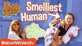 Smelliest Person in the World | PRANK STREET