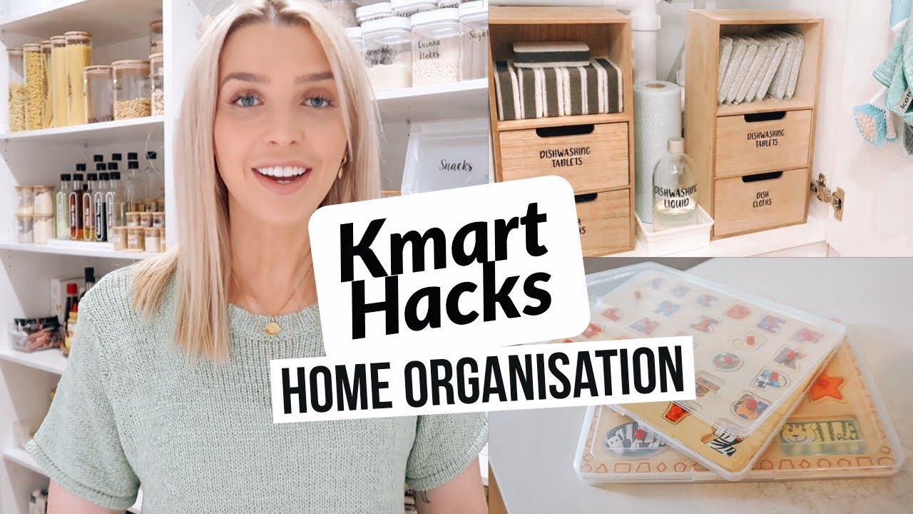 Organisation Hacks Must Have Kmart