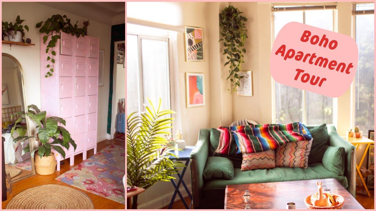Apartment Tour Boho San Francisco Thrifted Modern Home Decor Youtube
