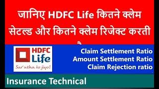 HDFC Life Claim Settlement