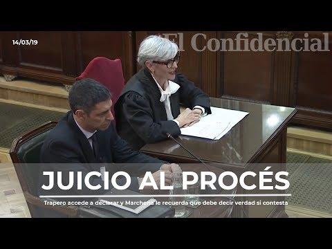 Trapero accede a declarar y Marchena veta el intento de intervenir a su abogada