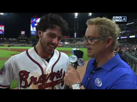 Dansby Swanson's walk-off hit gives Atlanta Braves first sweep at SunTrust Park