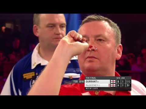 McGeeney vs Durrant 2018 BDO World Darts Championship. Set 11 + 12 + 13