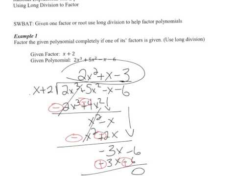 04 using long division to factor youtube 04 using long division to factor ccuart Images
