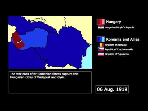 [Wars] The Hungarian-Romanian War (1919): Every Day