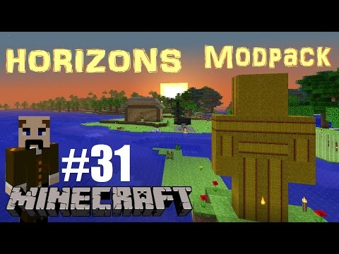 Minecraft S3 Horizons pack Ep 31: Moving into my new home