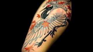 Значение татуировки журавль   фото на видео
