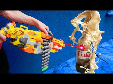 Thumbnail: MOST DANGEROUS NERF MOD! (COKE AND MENTOS)