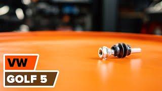 Nézzen meg egy videó útmutatók a VW GOLF V (1K1) Gumiharang Készlet Kormányzás csere